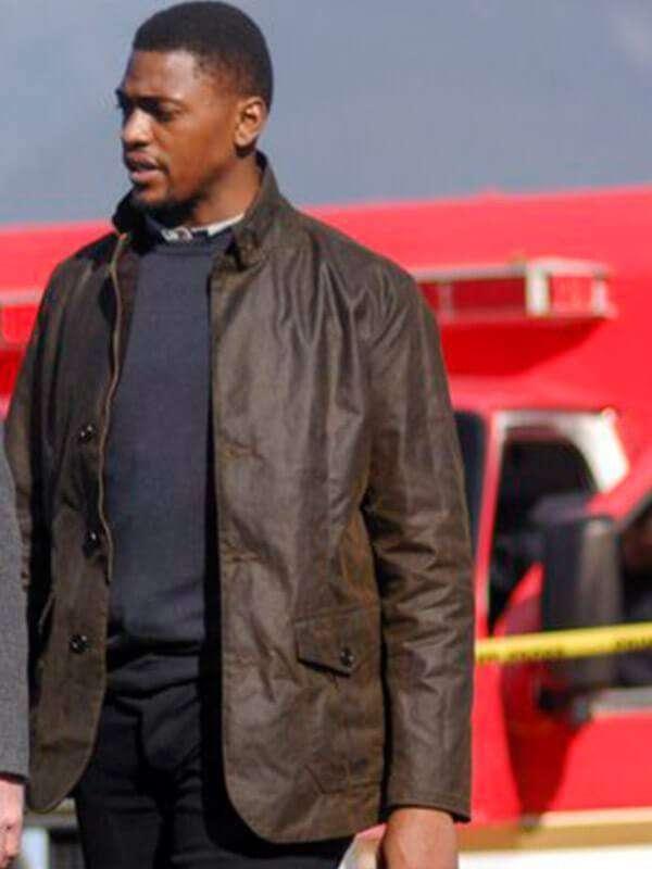 Damien Asante Tv Series The InBetween Distressed Brown Leather Jacket