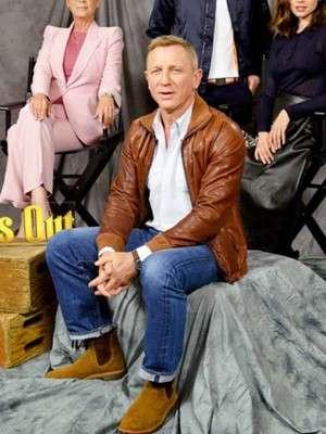 Daniel Craig Knives Out Jacket