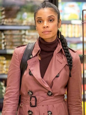 Beth Pearson Tv Series This Is Us Pink Cotton Coat