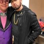 Eminem Oscars Awards Black Suede Leather Jacket
