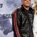 Fast and Furious Premiere Dominic Toretto Red Stripes Jacket