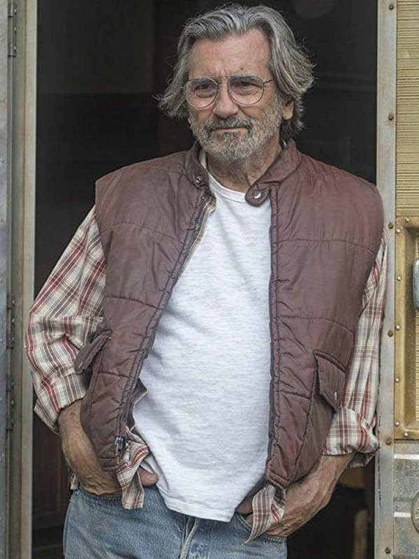 Griffin Dunne Worn Cotton Vest in Tv Series This Is Us