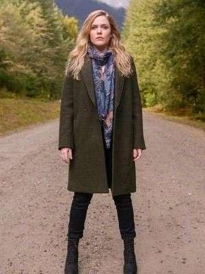 Tv Series The InBetween Harriet Dyer Green Coat