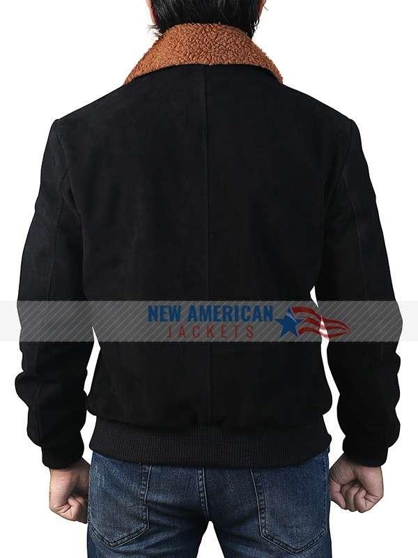 Henry Golding Leather Jacket