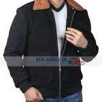 Henry Golding The Gentleman Shearling Jacket