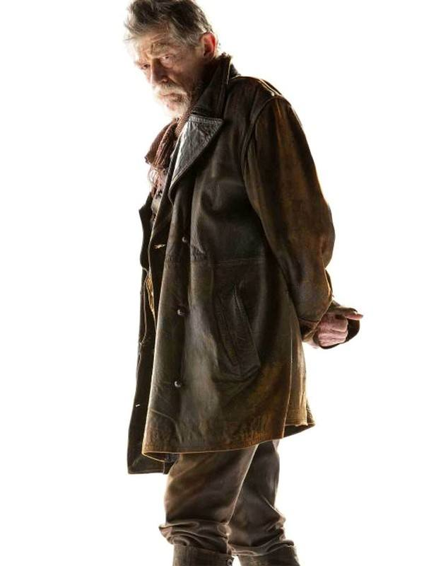 John Hurt Brown Trench Coat