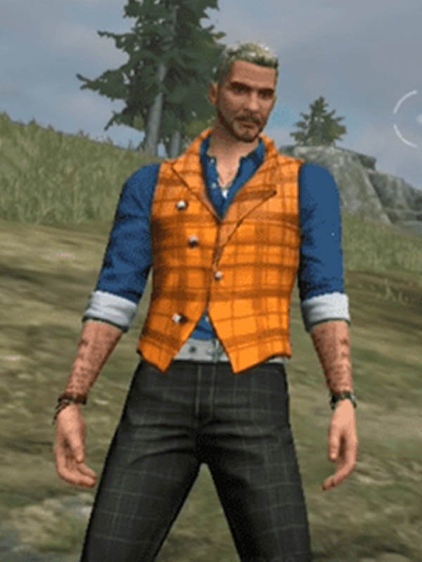 Joseph Free Fire Battlegrounds Video Game Garena Vest