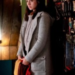Knives Out Ana de Armas Wool Coat