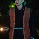 Leather Vest worn by Lili Reinhart in Tv Series Riverdale