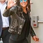 Letty Ortiz F9 Premiere Show in New York City Jacket