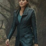 Lucy Lawless Ash vs Evil Dead Series Trench Leather Coat