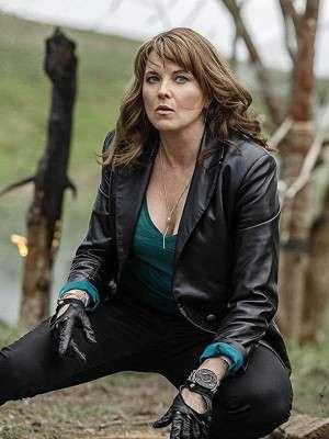 Black Leather Ruby Knowby Ash vs Evil Dead Jacket