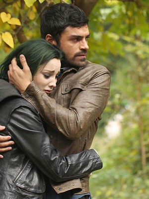 Lorna Dane TV Series The Gifted Black Leather Jacket