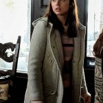 Marta Cabrera Movie Knives Out Grey Coat