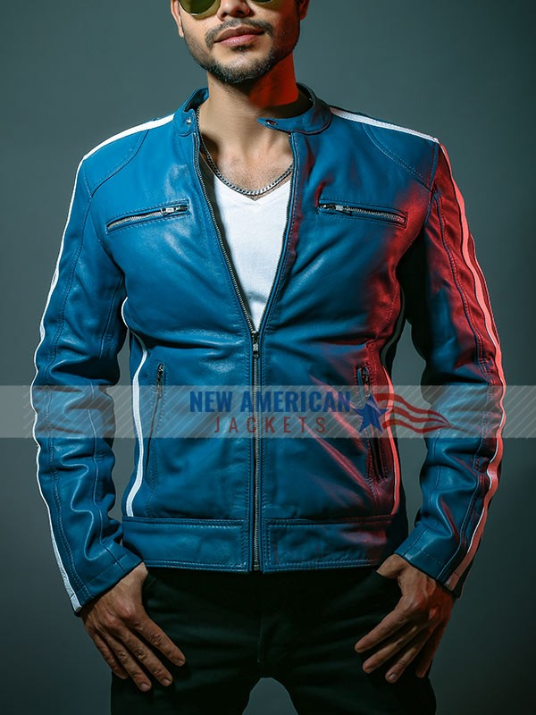 Miami Florida The Road To F9 Concert Vin Diesel Leather Jacket
