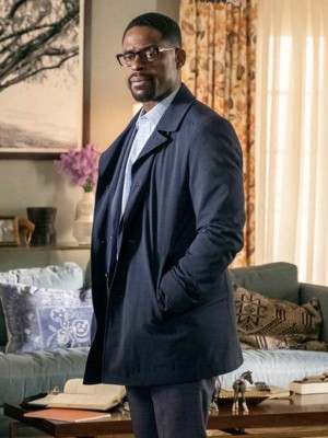 Sterling K. Brown Tv Series This Is Us Trench Coat