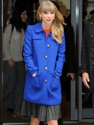 Taylor Swift Wool-Blend Trench Coat