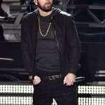 Oscars Awards 2020 Eminem Black Leather Jacket