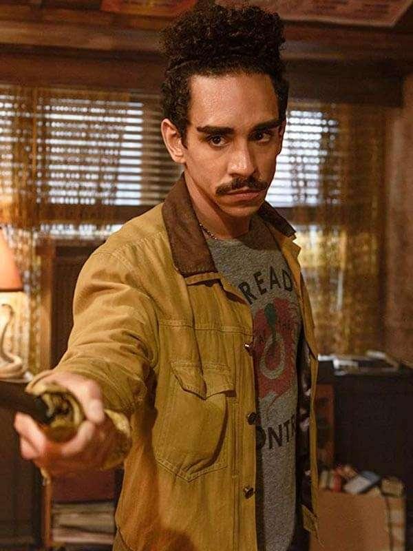 Pablo Simon Bolivar Suede Leather Jacket from Ash vs Evil Dead