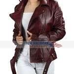 Pearl Thusi Queen Sono Biker Jacket