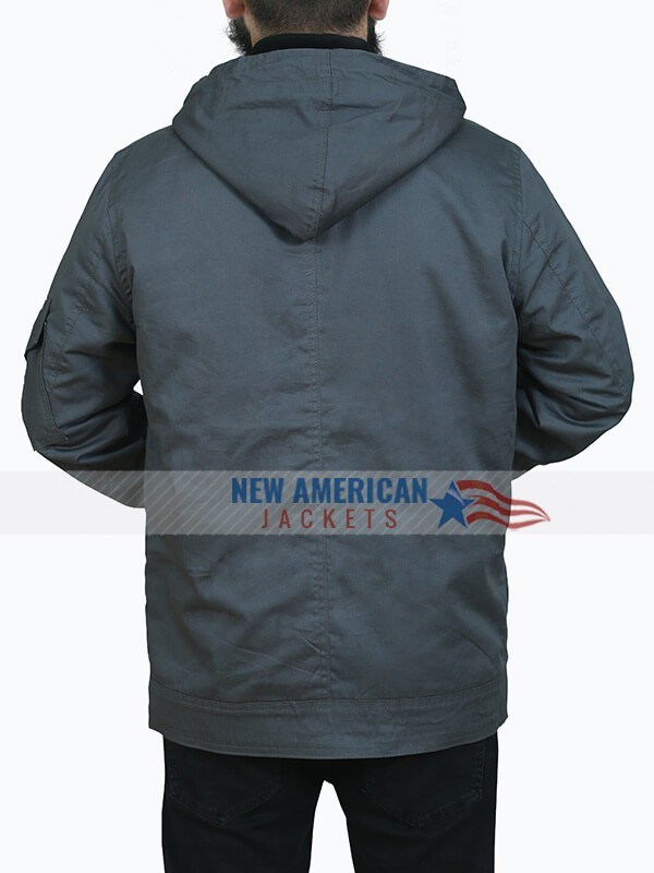 Peter Hooded Style Cotton Jacket for Mens