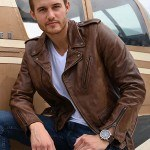 Peter Takes the Women to Flight Leather Jacket