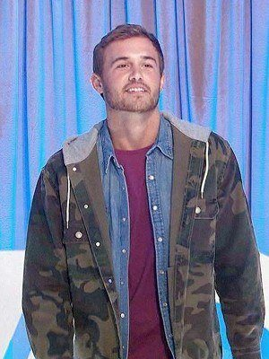 The Bachelor Tv Series Military Green Peter Hooded Jacket