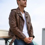 Peter Weber The Bachelor Brown Leather Jacket