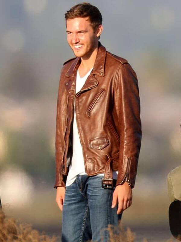 Peter Weber Tv Series The Bachelor Premiere Leather Jacket