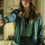 Satin Fabric Jacket Worn by Brandy Barr in Ash vs Evil Dead