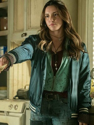 Tv Series Ash vs Evil Dead Arielle Carver-O'Neill Bomber Jacket
