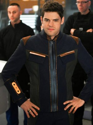 Leather Jacket Worn by Winn Schott in Tv Series Supergirl S05
