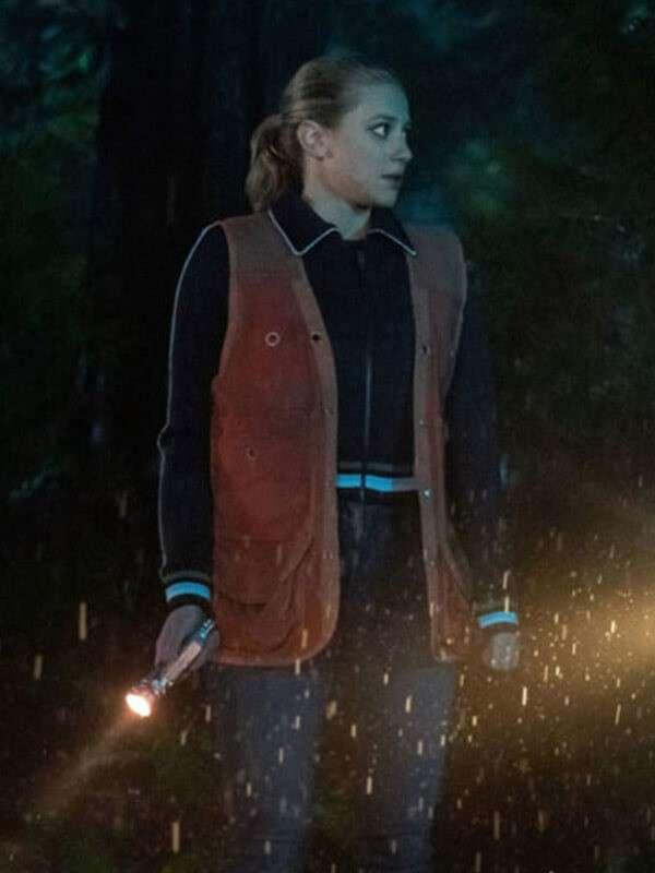 Season 4 Riverdale Teen Alice Smith Leather Vest