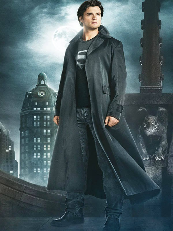 Smallville Season 9 Clark Kent Coat