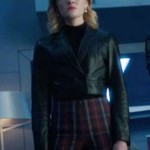 TV Series The Gifted Esme Fros Cropped Leather Jacket