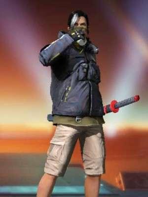 Free Fire Battlegrounds Garena Techwear Cotton Jacket