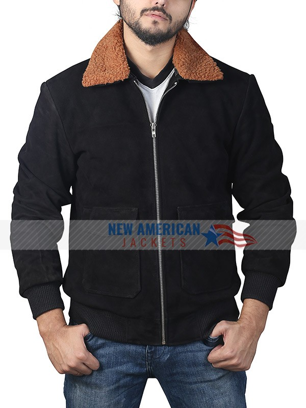 The Gentleman Henry Golding Shearling Jacket