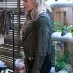 The Gifted TV Series Natalie Alyn Lind Biker Jacket