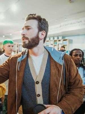 Chris Evans TIFF Jacket