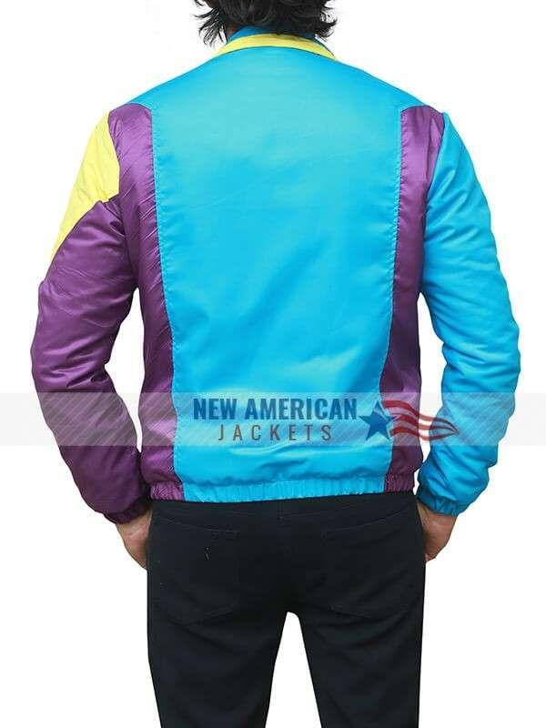 Tricolor Parachute Seth Bomber Jacket
