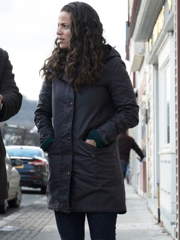 Tv Series Manifest Grace Stone Hooded Coat