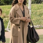 Tv Series Manifest Grace Stone Wool Brown Trench Coat