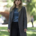 Tv Series Manifest Michaela Stone Wool Trench Coat