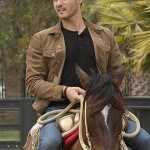 Tv Series The Bachelor Peter Weber Suede Leather Jacket