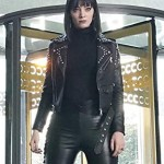 Tv Series The Gifted Lorna Dane Biker Studded Leather Jacket