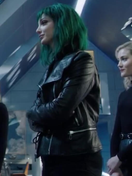 Tv Series The Gifted Lorna Dane Black Leather Jacket
