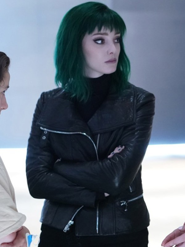 Tv Series The Gifted Lorna Dane Leather Jacket