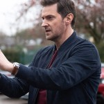 Tv Series The Stranger Richard Armitage Navy Blue Jacket