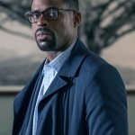 Tv Series This Is Us Sterling K. Brown Black Trench Coat