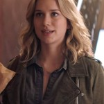 Tv Series You Guinevere Beck Suede Leather Jacket